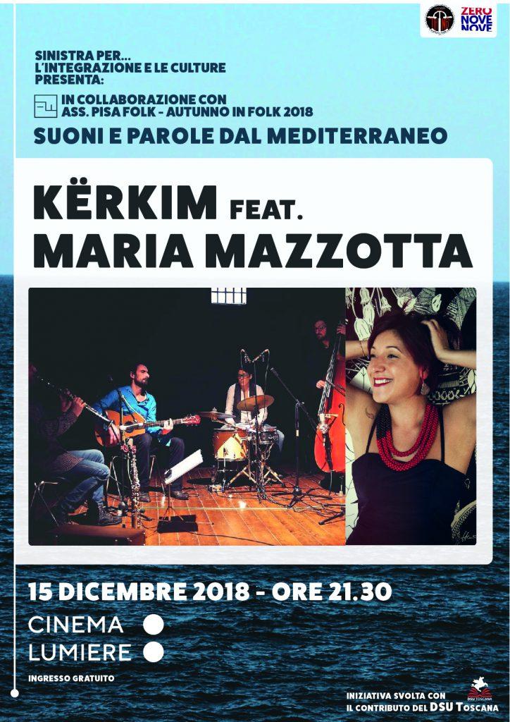 Suoni e parole dal mediterraneo - Autunno in folk 2018