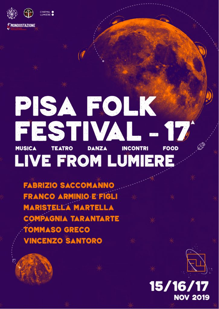 Locandina del PisaFolk festival - 17